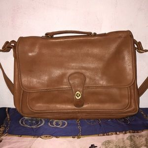 Vtg Coach Portfolio #6045 Made In USA